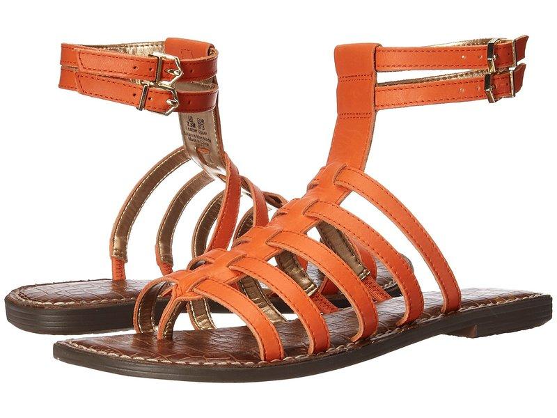サムエデルマン レディース サンダル シューズ Gilda Tangelo Vaquero Saddle Leather