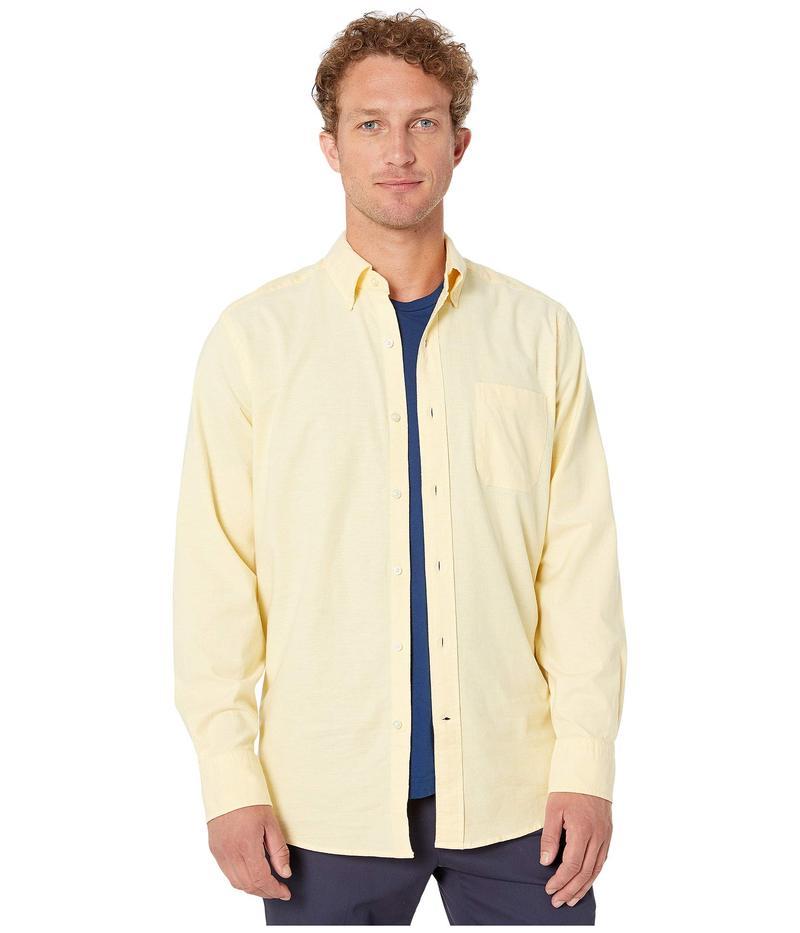 サウザーンタイド メンズ シャツ トップス Channel Marker Oxford Button Down Shirt Sunshine