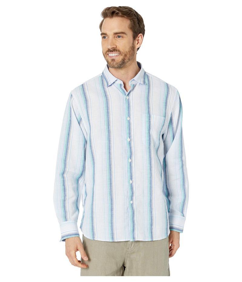 トッミーバハマ メンズ シャツ トップス Corsica Stripe White