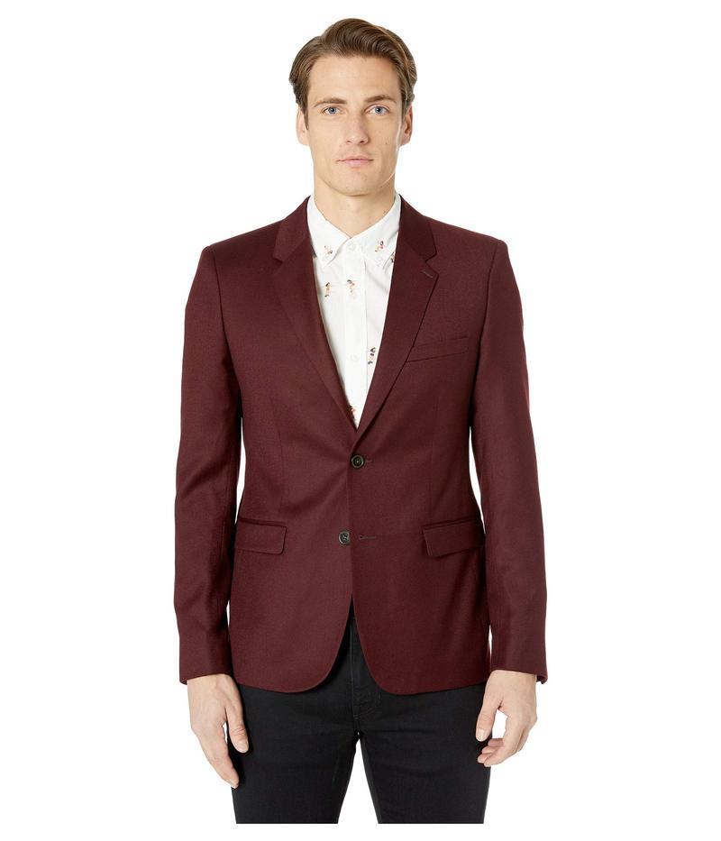 ザ・クープルス メンズ コート アウター Two-Button Jacket Burgundy