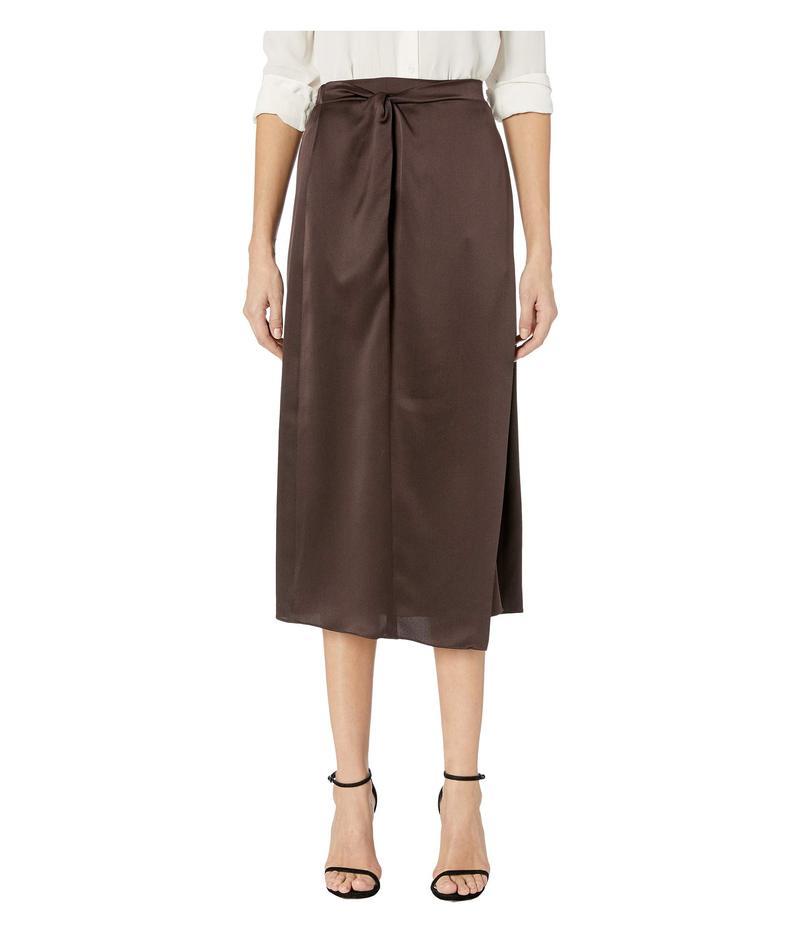 ヴィンス レディース スカート ボトムス Knot Paneled Skirt Black Truffle