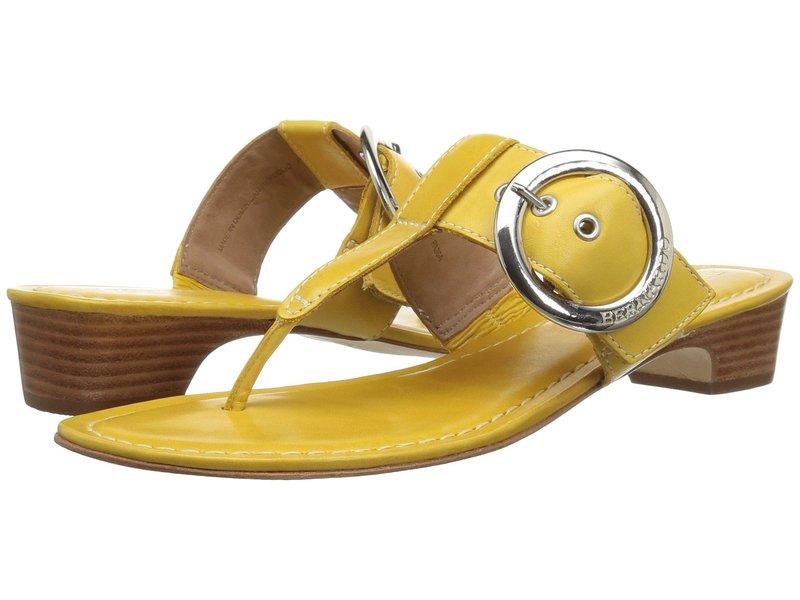 ベルナルド レディース ヒール シューズ Grace Golden Yellow Antique Calf