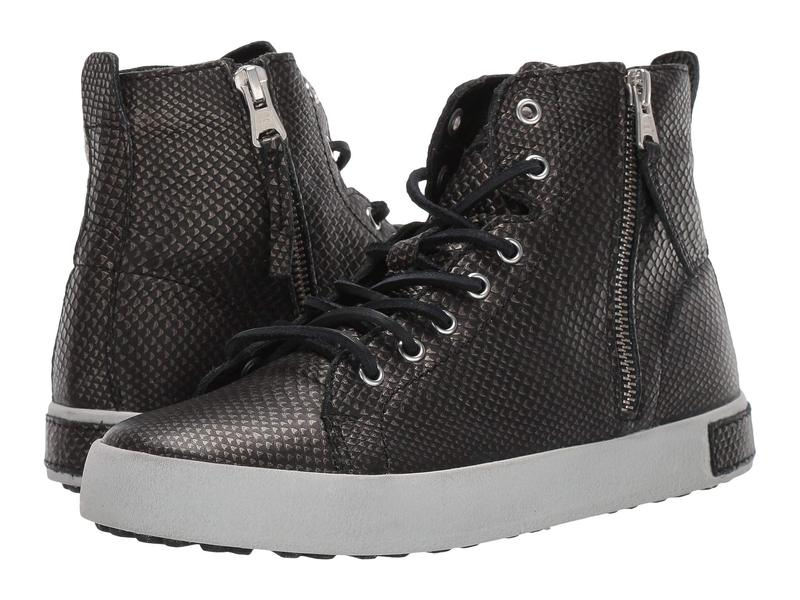 ブラックストーン レディース スニーカー シューズ High Top Zip Boot - KL62 Black Metallic