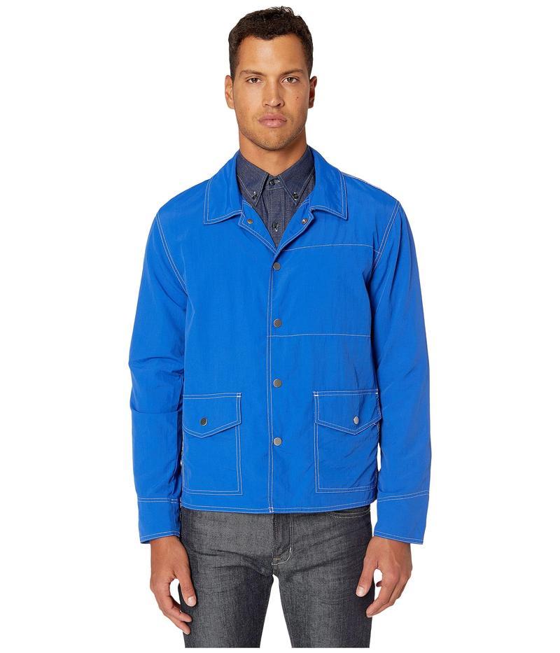 ボールドウィン メンズ シャツ トップス Garrick Royal Blue