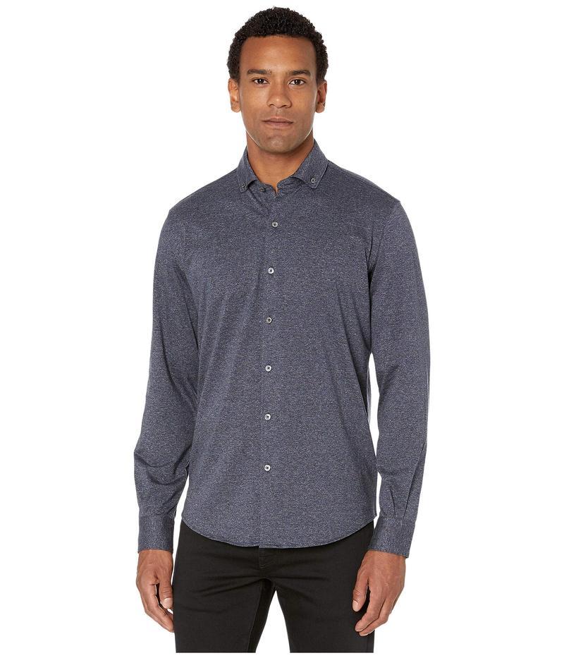 ブガッチ メンズ シャツ トップス Tallinn Knit Long Sleeve Shirt Midnight