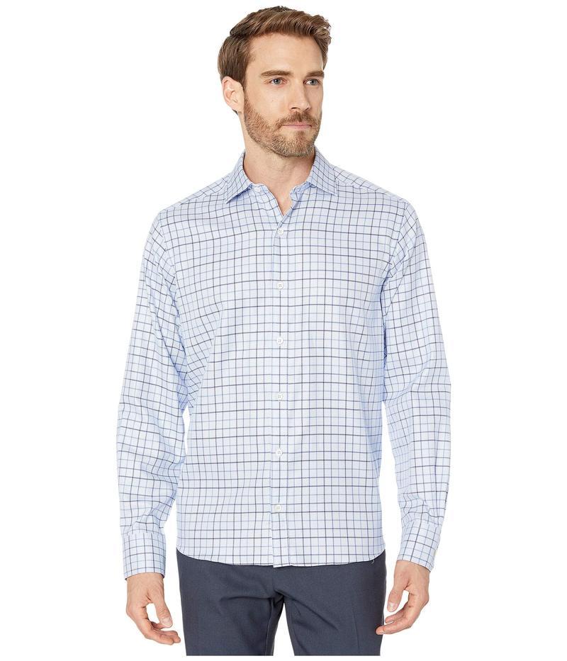 ブガッチ メンズ シャツ トップス Douglas Shirt Long Sleeve Classic Fit Spread Collar Sky