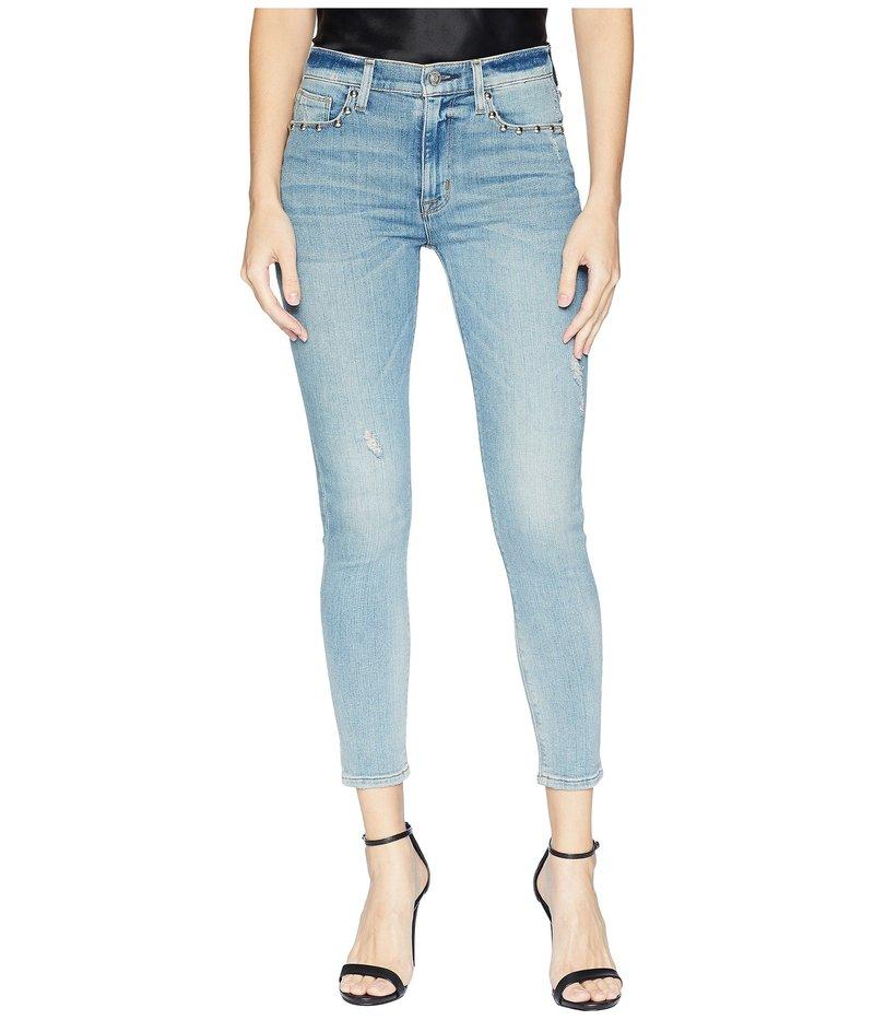 ハドソンジーンズ レディース デニムパンツ ボトムス Barbara High-Waist Super Skinny Crop Jeans in Dangerous Wild Nothing Dangerous Wild Nothing