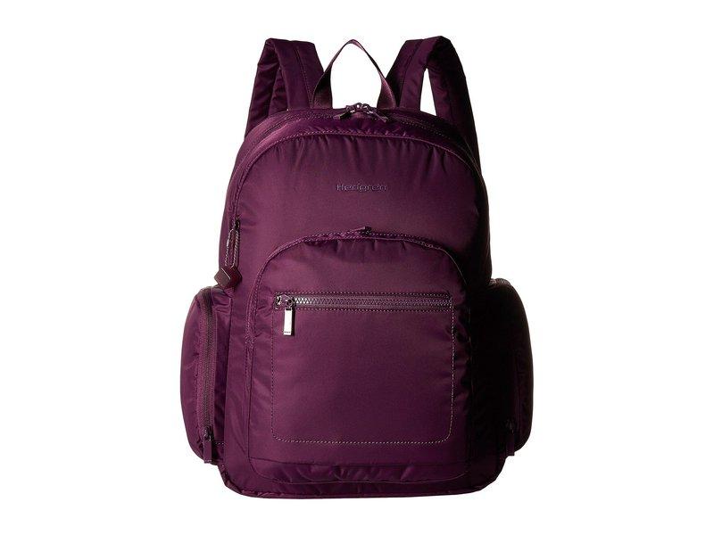 ヘドグレン レディース バックパック・リュックサック バッグ Tour Large Backpack with RFID Pocket Purple Passion