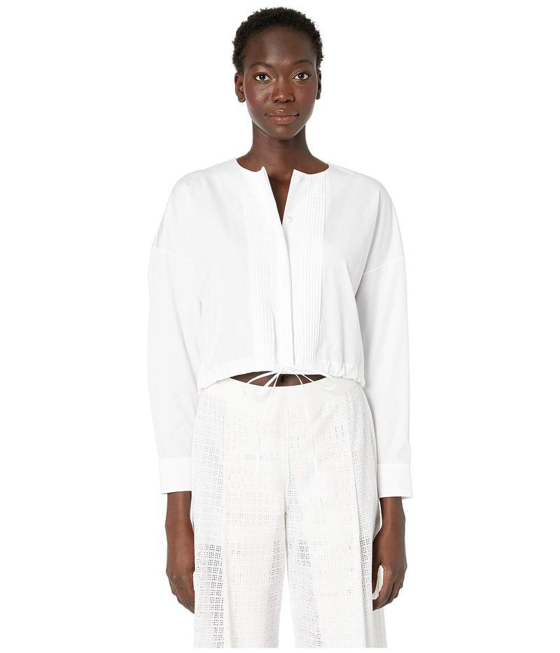 ジル サンダー レディース シャツ トップス Woven Shirt White