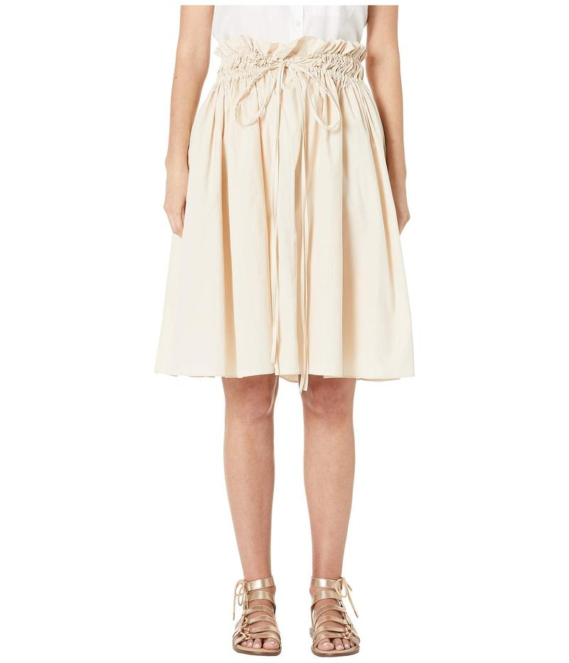ジル サンダー レディース スカート ボトムス Woven Skirt Light Pink
