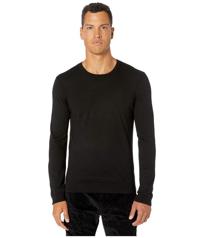 ジョンバルベイトス メンズ ニット・セーター アウター Slim Fit Cashmere Crew Sweater Y2644V3 Black