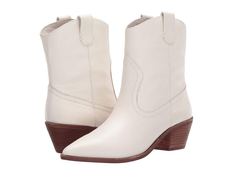 ジェイクルー レディース ブーツ・レインブーツ シューズ Leather Western Tanner Boot Ivory