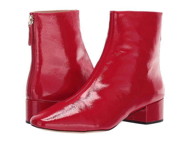 ジェイクルー レディース ブーツ・レインブーツ シューズ Cap-Toe Ankle Boot Brick Red