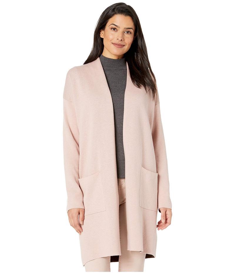 ジョーンズニューヨーク レディース ニット・セーター アウター Plaited Sweater Coat Dark Rose Shadow
