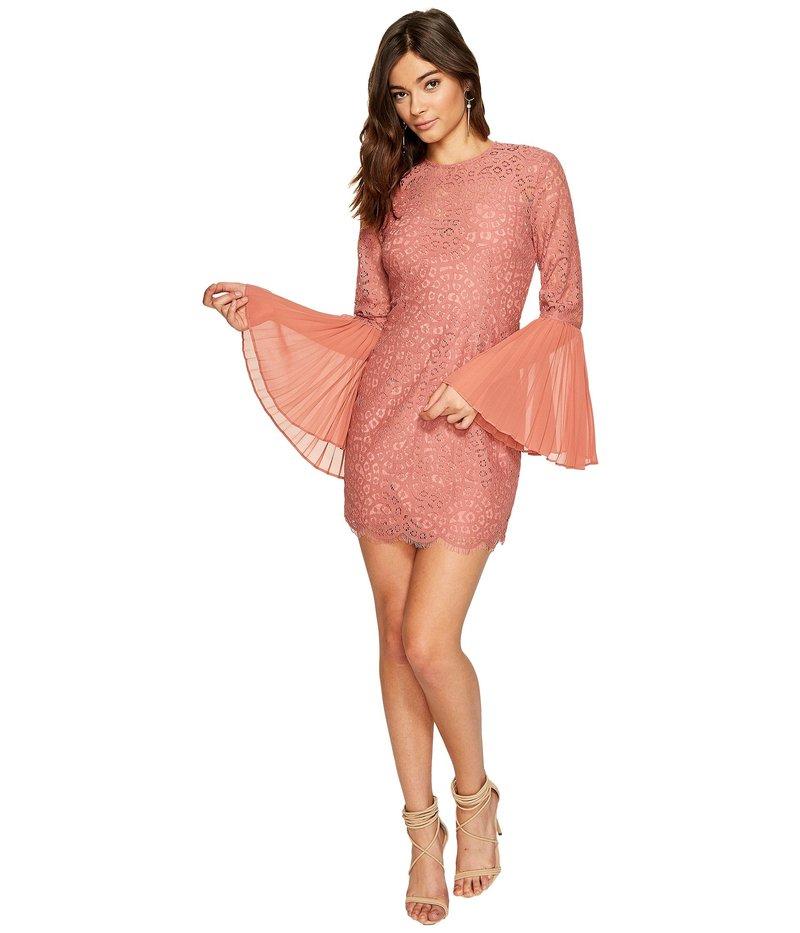 キープサケザレーベル レディース ワンピース トップス Be The One Long Sleeve Mini Dress Cinnamon