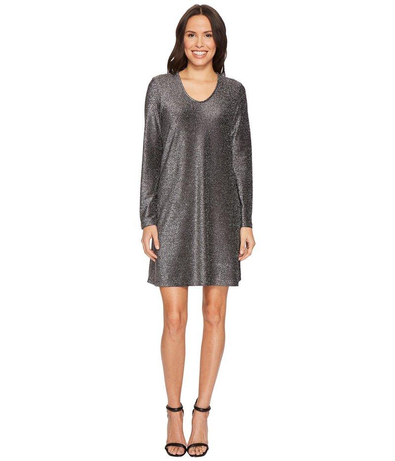 カレンケーン レディース ワンピース トップス Sparkle Taylor Dress Black/Silver