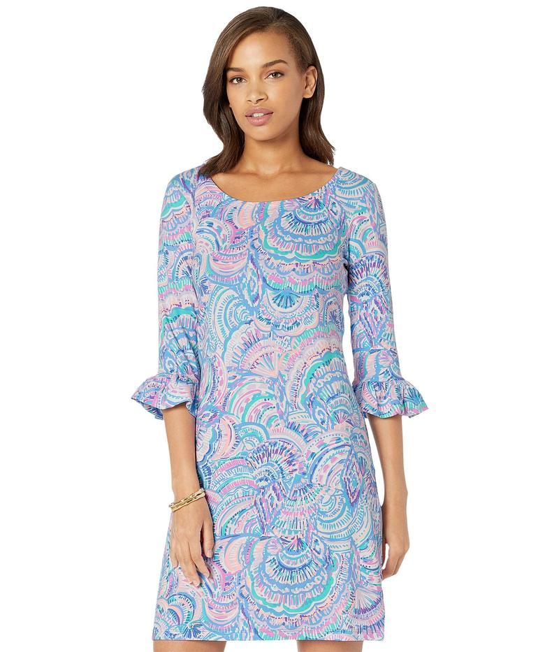 リリーピュリッツァー レディース ワンピース トップス UPF 50+ Sophie Ruffle Dress Multi Happy As A Clam