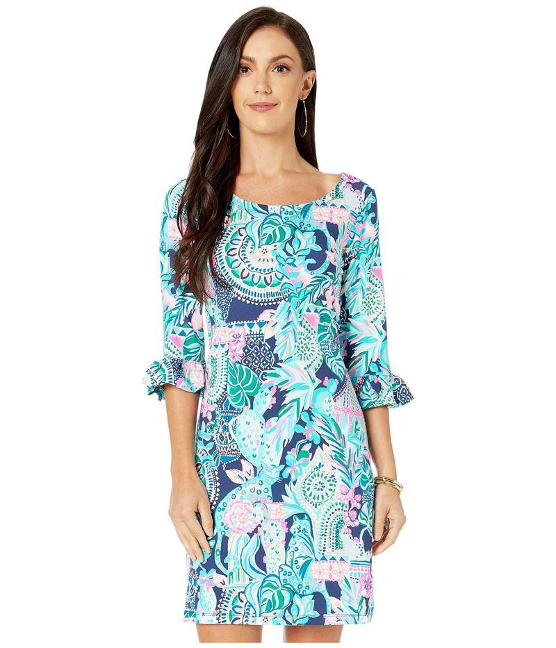リリーピュリッツァー レディース ワンピース トップス UPF 50+ Sophie Ruffle Dress Multi Lookin Sharp