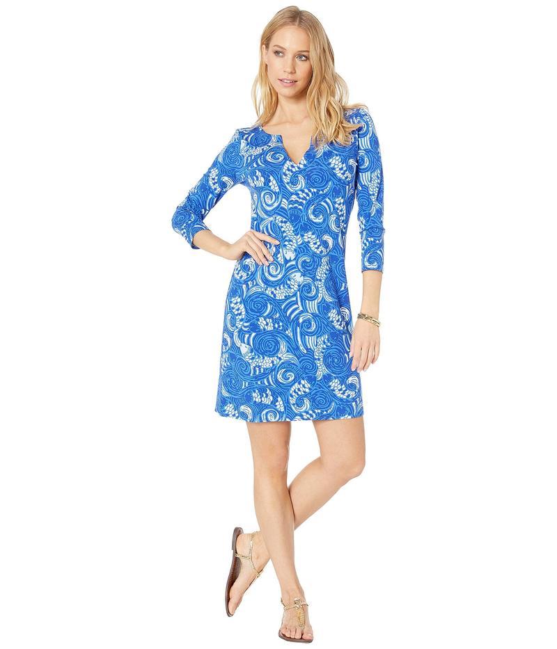 リリーピュリッツァー レディース ワンピース トップス Three Quarter Sophiletta Dress Blue Grotto So Offishal