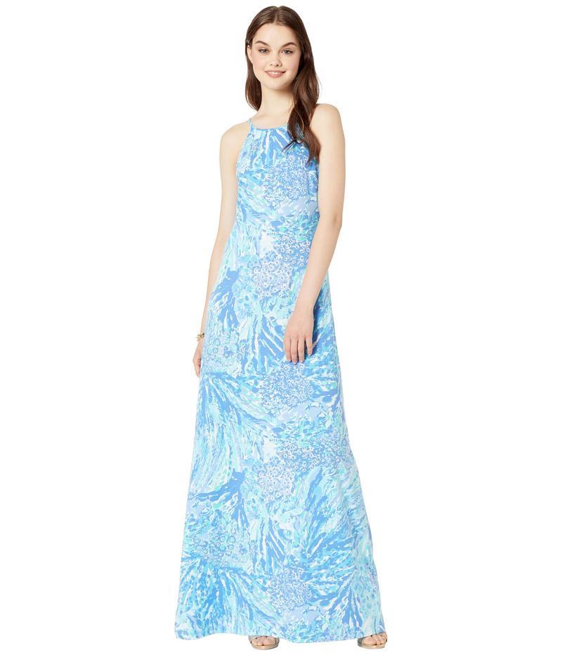 リリーピュリッツァー レディース ワンピース トップス Margot Maxi Dress Blue Haven Hey Hey Soleil