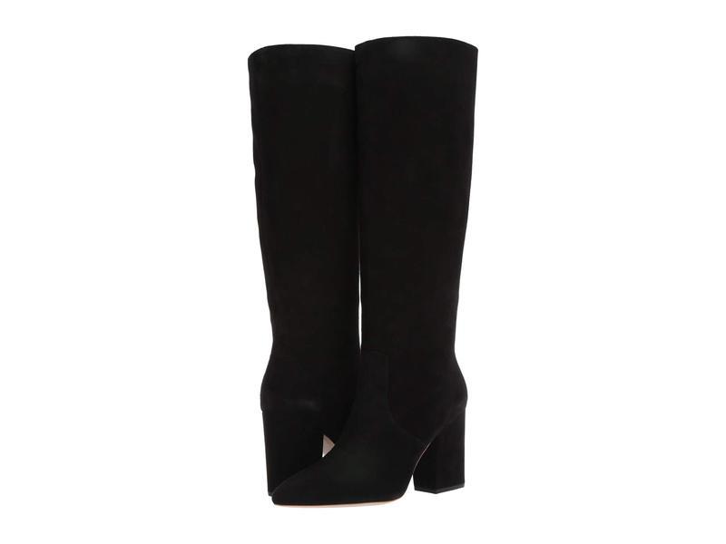 ロフラー ランダル レディース ブーツ・レインブーツ シューズ Sarina Tall Boot Black Suede