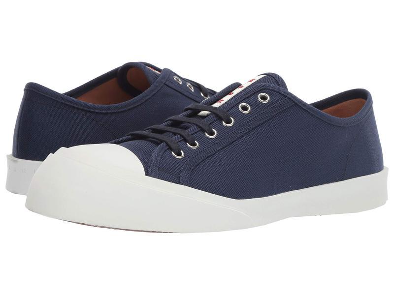 マルニ メンズ スニーカー シューズ Exaggerated Tennis Sneaker Blue/Black
