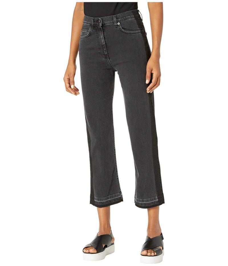 アレキサンダー・マックイーン レディース デニムパンツ ボトムス Straight Leg Jeans in Black Denim Black Denim