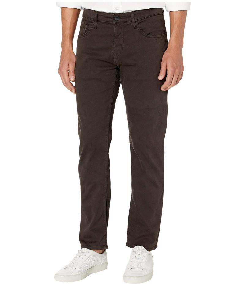 マーヴィ ジーンズ メンズ デニムパンツ ボトムス Zach Mid-Rise Straight Leg in Black Coffee Sateen Black Coffee Sateen