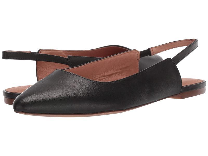 メイドウェル レディース サンダル シューズ Isla Slingback Flat Leather True Black