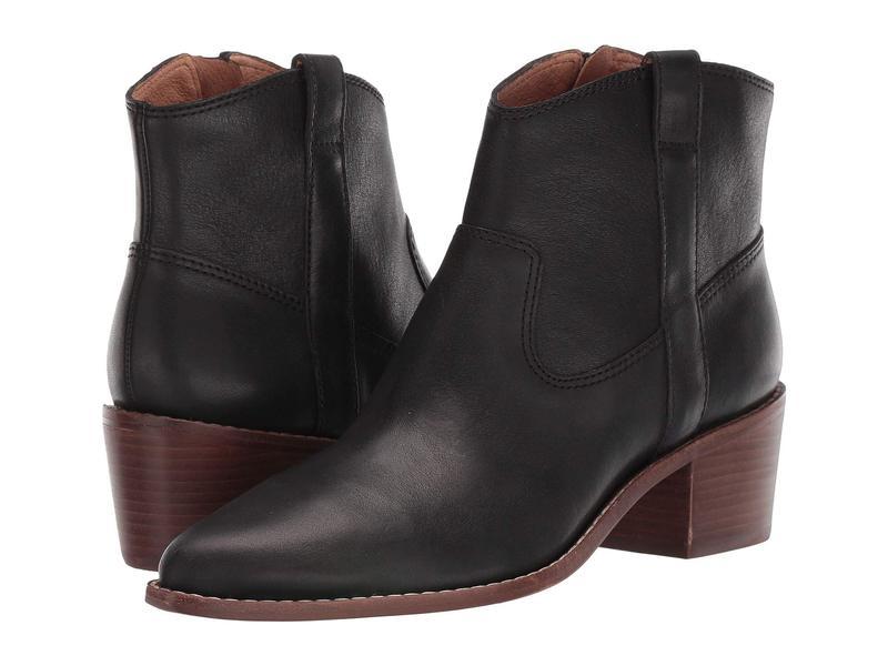 メイドウェル レディース ブーツ・レインブーツ シューズ Ronin Western Boot True Black Leather
