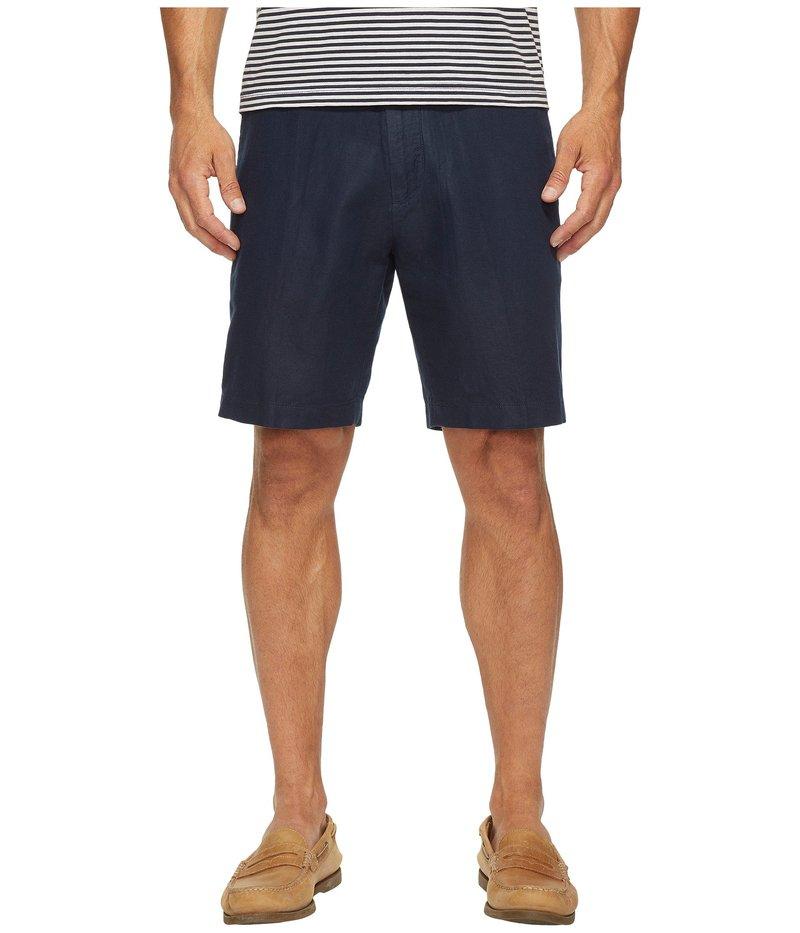 ナウティカ メンズ ハーフパンツ・ショーツ ボトムス Linen Cotton Shorts Navy