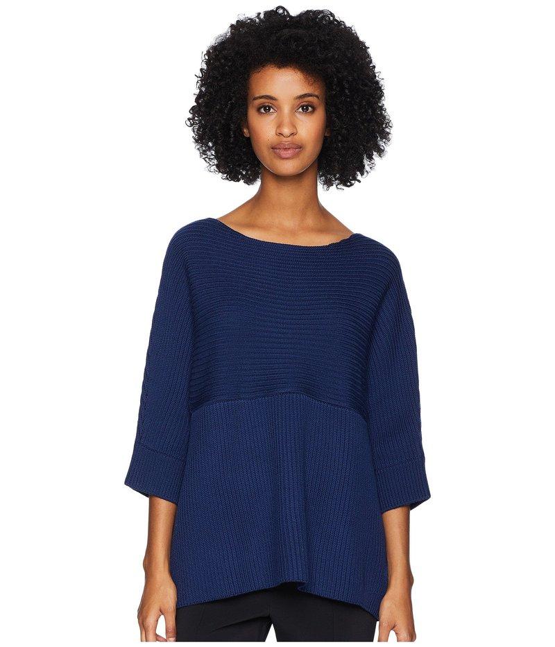 ニールバレット レディース ニット・セーター アウター Fall Away Rib Sweater Blue
