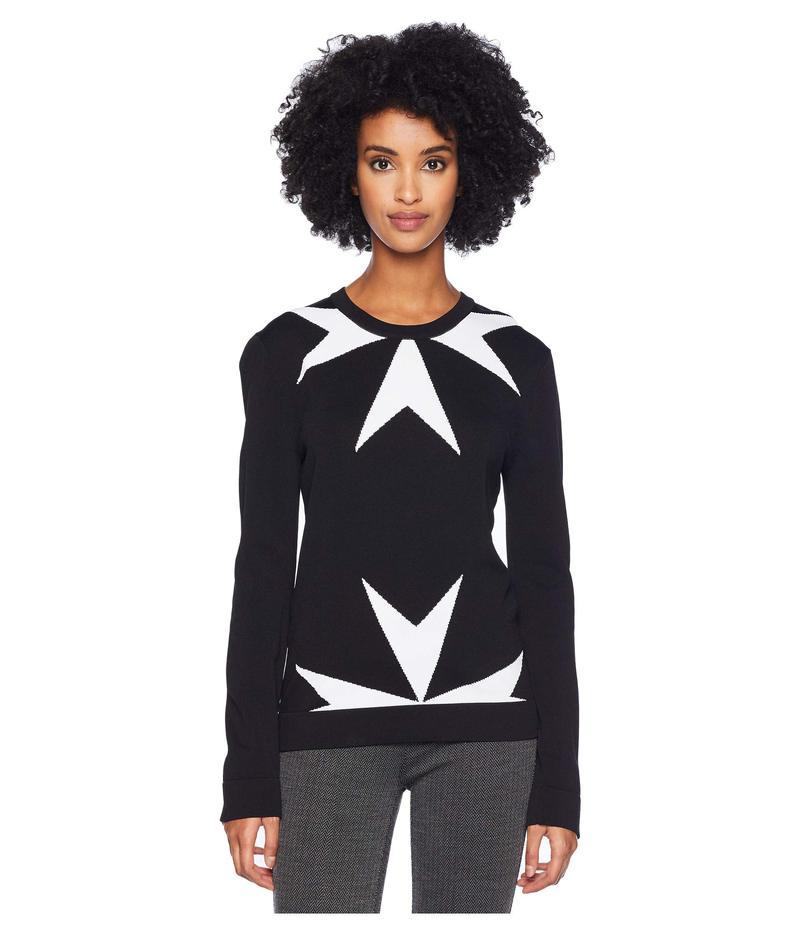 ニールバレット レディース ニット・セーター アウター Military Star Sweater Black/White
