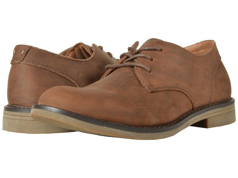 ノンブッシュ メンズ オックスフォード シューズ Linwood Plain Toe Oxford Brown Leather