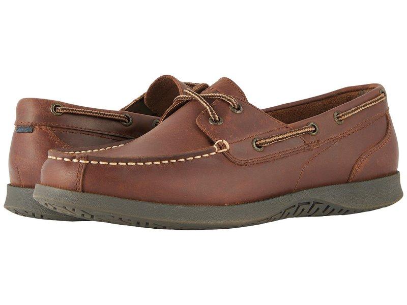 ノンブッシュ メンズ デッキシューズ シューズ Bayside Lites Two-Eye Moc Toe Boat Shoe Dark Brown