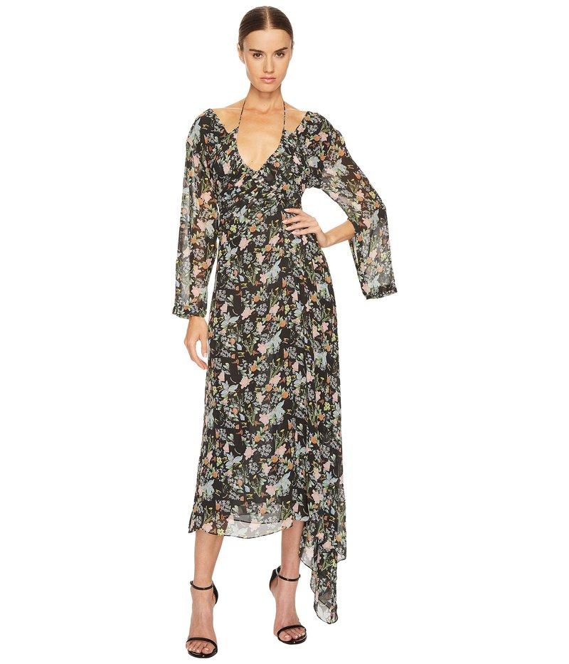 プリーン ソーントン ブルガッジ レディース ワンピース トップス Corinne Dress Black Floral