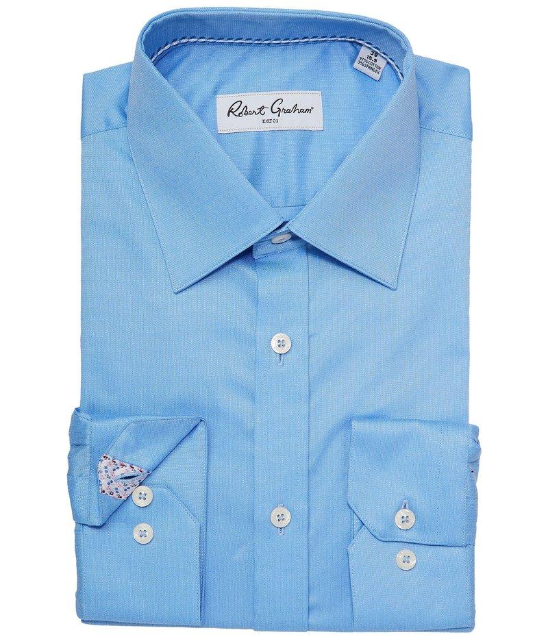 ロバートグラハム メンズ シャツ トップス Ace Dress Shirt Blue
