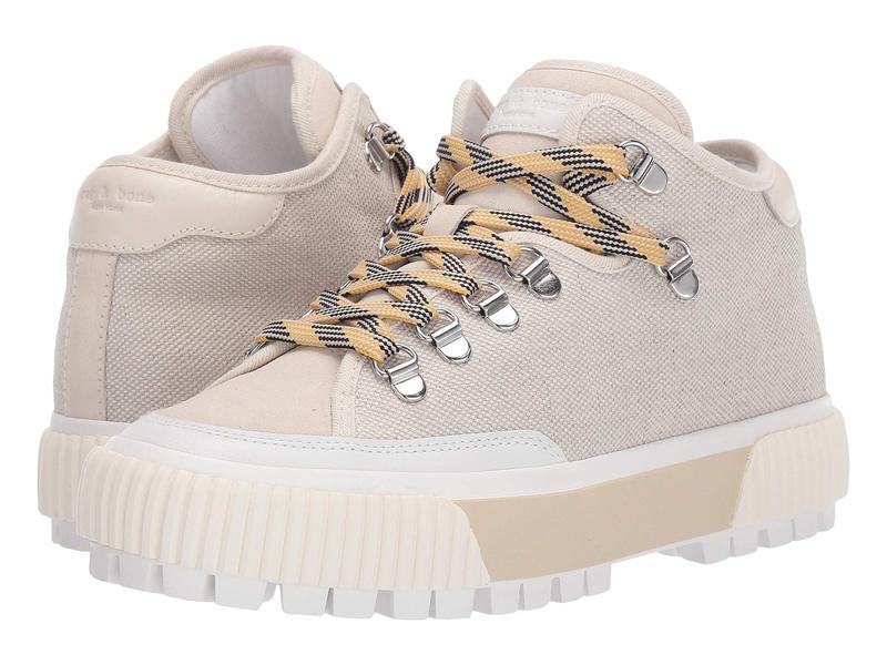 ラグアンドボーン レディース スニーカー シューズ RB Army Hiker Low Sneaker Boots Ecru