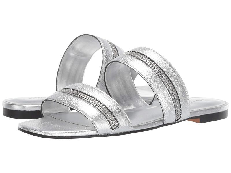 レベッカミンコフ レディース サンダル シューズ Marciann Silver Leather