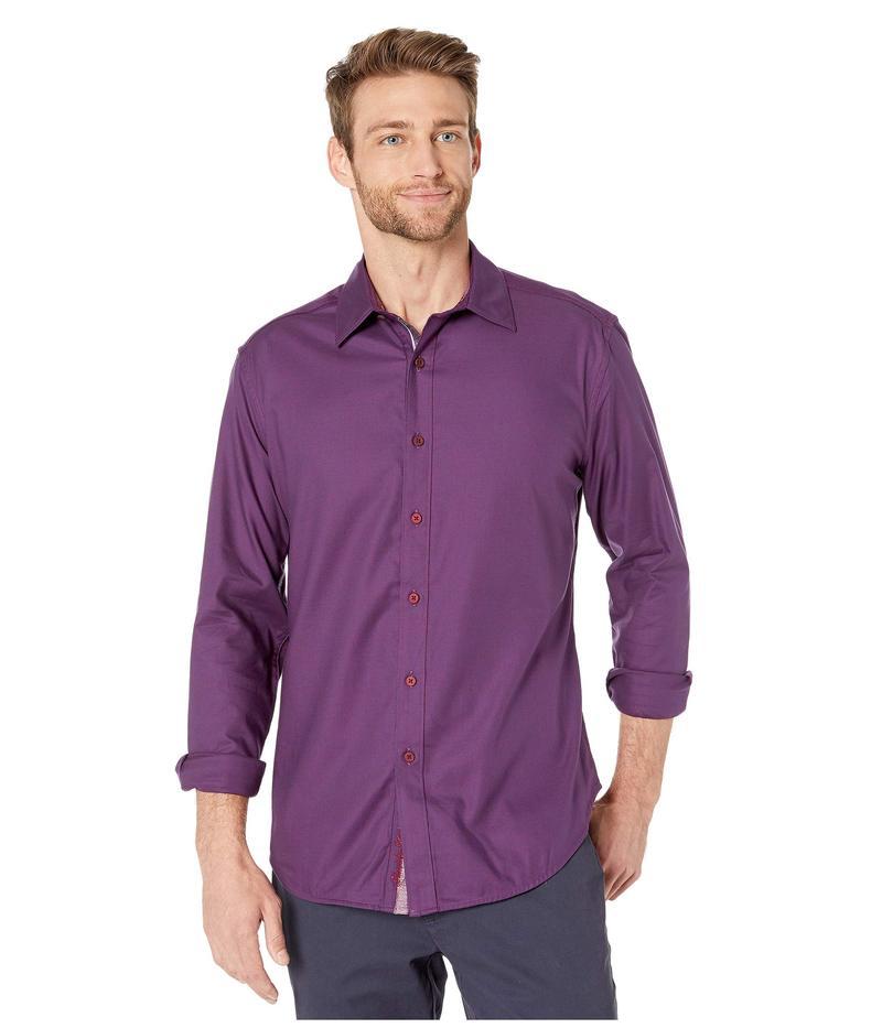 ロバートグラハム メンズ シャツ トップス Hearst Long Sleeve Sport Shirt Berry