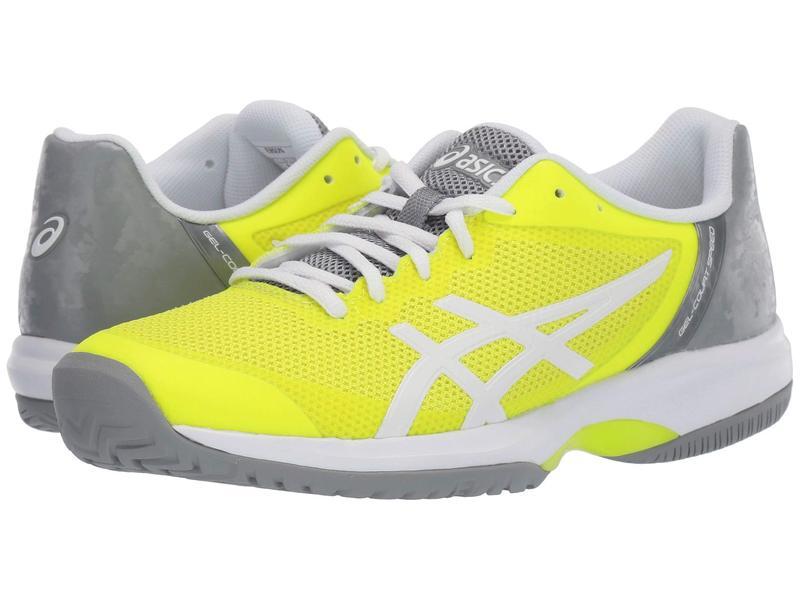 アシックス レディース スニーカー シューズ Gel-Court Speed Safety Yellow/White