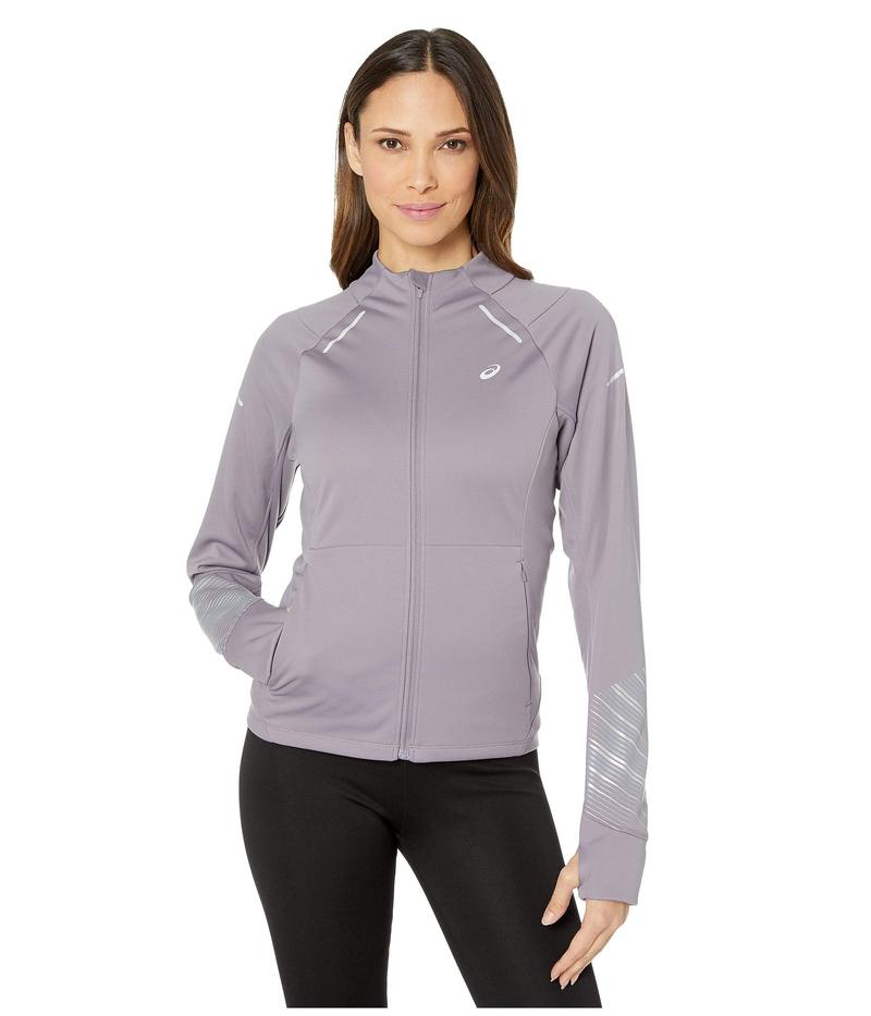 アシックス レディース コート アウター Lite-Show¢ Winter Jacket Lavender Grey