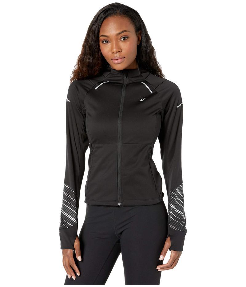 アシックス レディース コート アウター Lite-Show¢ Winter Jacket Performance Black