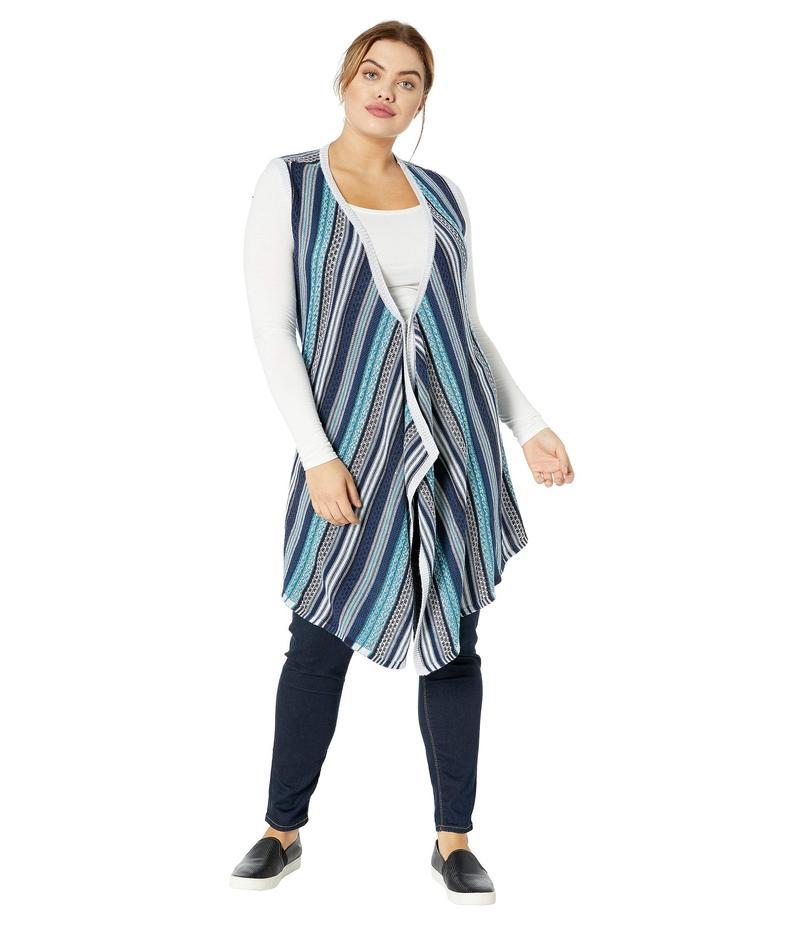アベンチュラ レディース コート アウター Plus Size Kennedy Vest Grey Ice
