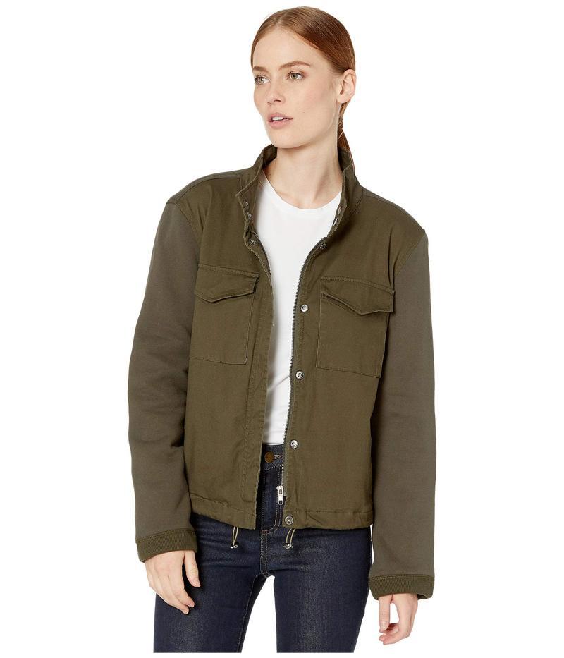 トリバル レディース コート アウター Coat w/ Pockets Dark Leaf