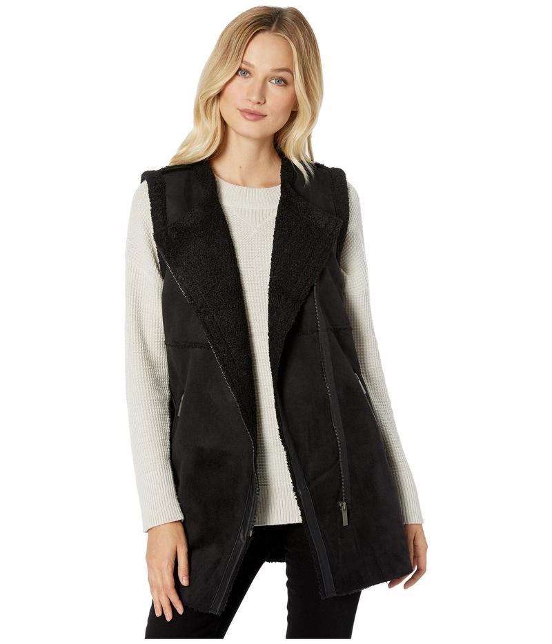 トリバル レディース コート アウター Vest w/ Zipper Pockets Black