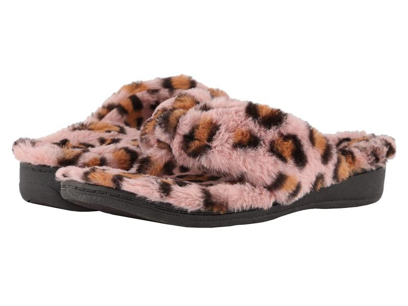 バイオニック レディース サンダル シューズ Gracie Leopard Pink Leopard