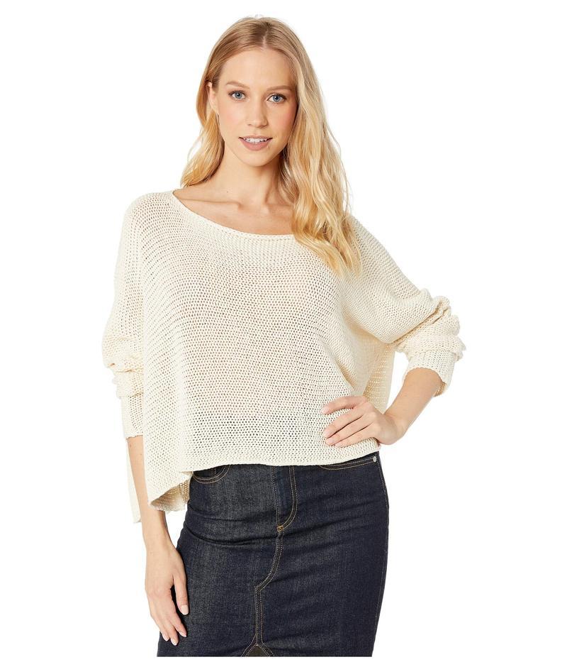 ビーシービージーマックスアズリア レディース ニット・セーター アウター Long Sleeve Slouchy Sweater Natural