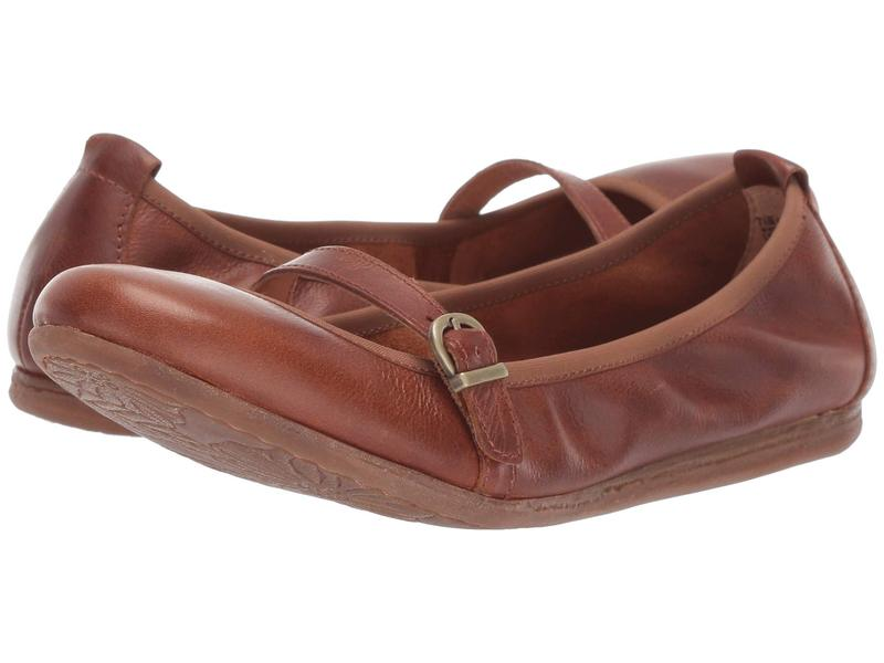ボーン レディース サンダル シューズ Curlew Tan Full Grain Leather
