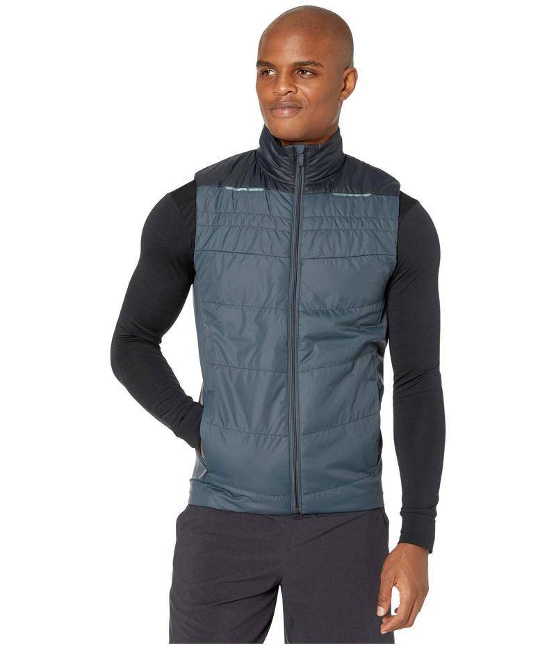 ブルックス メンズ コート アウター Cascadia Thermal Vest Asphalt/Black